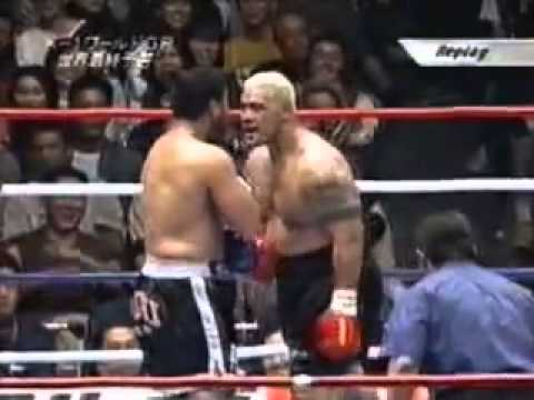K1 Ray Sefo VS Mark Hunt This is The Fist-Fight]