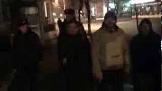 Protest inhibat la ambasada română din Chișinău