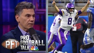 Vikings' Kirk Cousins responding to criticism with phenomenal play | Pro Football Talk | NBC Sports