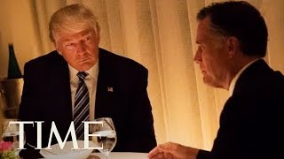 President Trump Just Endorsed Mitt Romney For US Senate, Here's Their Complicated History | TIME