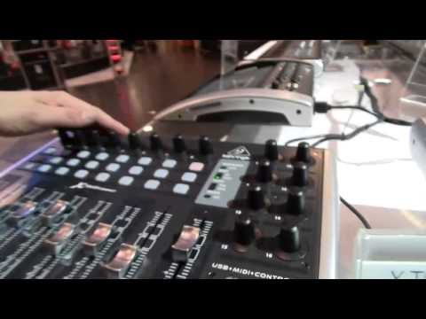 NAMM 2014: Behringer X-Touch Series MIDI and Mackie Control