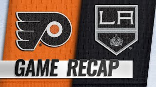 Balanced offense lifts Flyers past Kings, 5-2