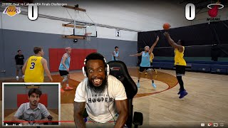 I MIGHT BE HOOPER HOOPER NOW! BASKETBALL 3v3 2Hype Heat vs Lakers NBA Finals Challenges!