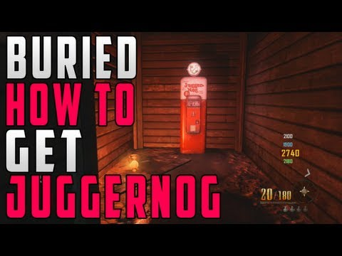 """How To Get JUGGERNOG"" In ""Buried"" - Fastest Way To Get Juggernog Perk - Smashpipe Games"