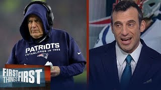 Belichick will get weapons for Patriots if he knows Brady's in — Gottlieb | NFL | FIRST THINGS FIRST