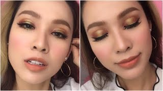 [ Quách Ánh ] Summer Gold Makeup Look ( English Sub )