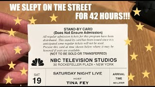 WE GOT TICKETS TO THE SNL FINALE w/ TINA FEY
