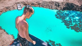 Cliff Jumping In Our New Backyard