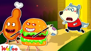 Please Come Back With Wolfoo! - Wolfoo Learns Good Habits for Kids   Wolfoo Family Kids Cartoon