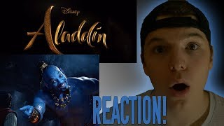 Disney's Aladdin REACTION! Official Trailer - In Theaters May 24!