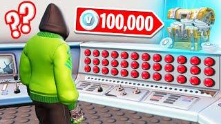FIND The CORRECT BUTTON To WIN 100,000 V-BUCKS! (Fortnite)