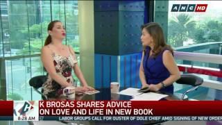 K Brosas talks about daughter's dad