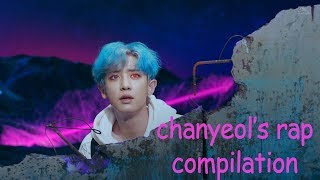 every exo mv but it's only chanyeol's iconic rap