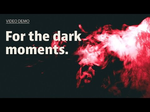 Introducing VH051 Simplified: dark // For the dark moments