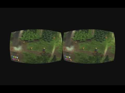 Magicka stereoscopic 3D realtime rifted for Oculus Rift