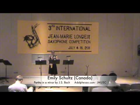 3rd JMLISC: Emily Schultz (Canada) Partita in a minor by J.S. Bach