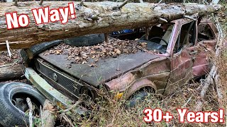 Will this Volkswagen Rabbit Run and Drive After Being Abandoned in the Woods for 30+ Years?!