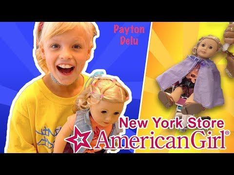 Payton plays in New York city!