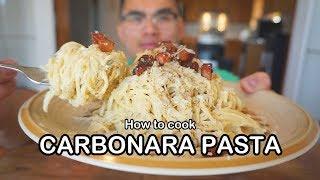 How to cook CARBONARA PASTA