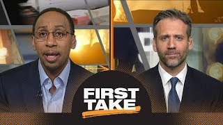 Stephen A. has problem with Draymond Green's mom blaming Kevin Durant on Twitter | First Take | ESPN