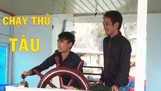 Trải Nghiệm Chạy Thử Tàu Du Lịch - Biển Cát Bà