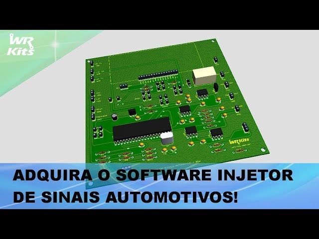 ADQUIRA O SOFTWARE INJETOR DE SINAIS AUTOMOTIVOS PROFISSIONAL NA WR KITS!