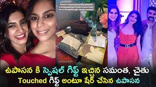 Samantha, Naga chaitanya sends a special gift to Upasana, ..