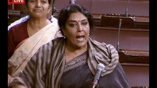 Renuka Chowdhury Excellent Speech In Rajya Sabha...Narendra Modi Ramayan..APSpecialStatus..Laughing
