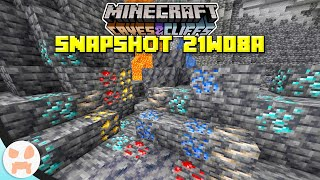 NEW ORES, DEEPSLATE, + SMOOTH BASALT! | Minecraft 1.17 Caves and Cliffs Snapshot 21w08a
