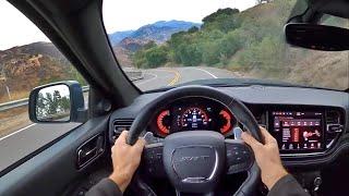 2021 Dodge Durango SRT Hellcat POV Canyon Drive (3D Audio)(ASMR)