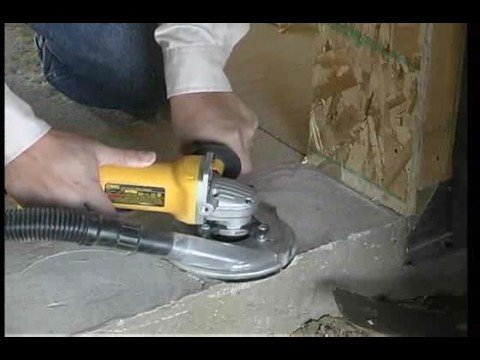 Concrete Grinding Dust Control Dust Buddie Youtube
