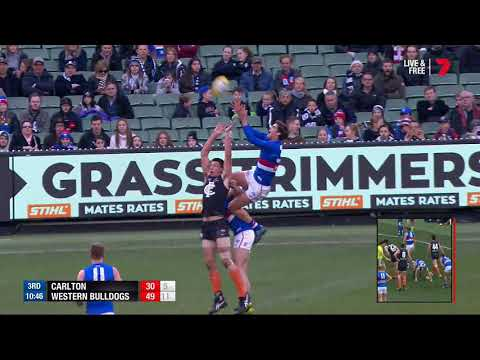 Carlton Blues vs Western Bulldogs