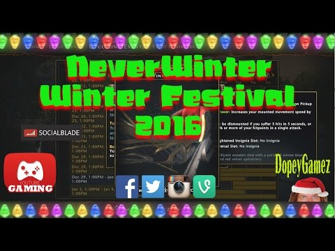 Winter Festival, Neverwinter PS4