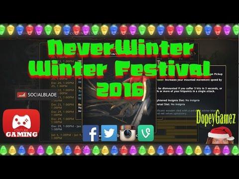 Winter Festival, Neverwinter PS4