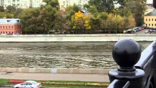 Rio Moskva perto do Kremlin