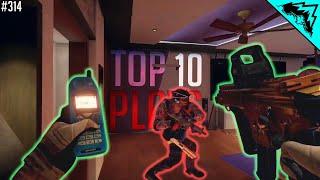 SPIN MOVE - Top 10 Plays Rainbow Six Siege (WBCW #314)
