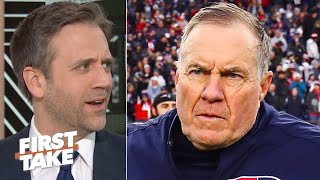 Bill Belichick could leave the Patriots if Tom Brady stays - Max Kellerman | First Take