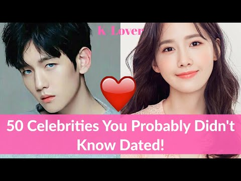 50 Korean Celebrities That You Probably Don't Know Dated
