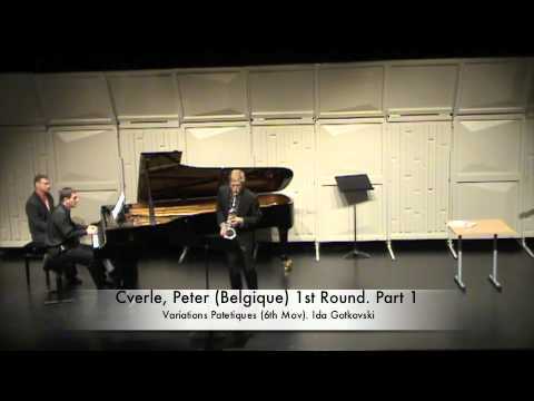 Cverle, Peter (Belgique) 1st Round. Part 1