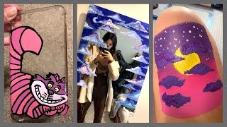 People Painting Things on TikTok for 7 Minutes Straight #9