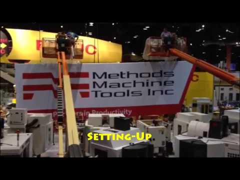 Showcasing Methods Machine Tools Inc. at IMTS 2014