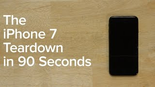 iPhone 7 Teardown in 90 seconds!