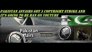 Last Video from Pakistan Affairs Channel and Last Reply to The Wide Side Jehad Zafar