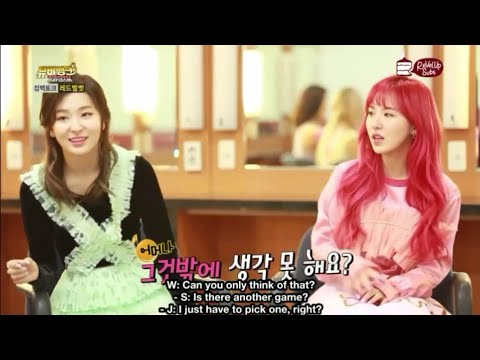 Everytime Red Velvet Let Seulgi & Wendy Together Part2