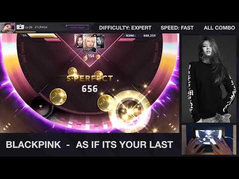 [BeatEVO YG] BLACKPINK - As if its your last 마지막처럼 (Expert 100% ALL COMBO)