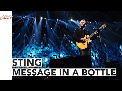 STING - Message In a Bottle - The 2016 Nobel Peace Prize Concert