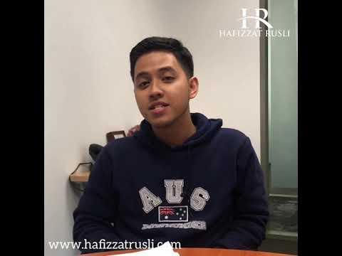 Hafizzat Rusli Basic Course Student Mr. Arip's Testimony