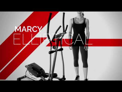 video Marcy Magnetic Elliptical Trainer Cardio Workout Machine