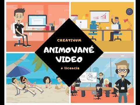 Já udělám profi 2D animované video + licence