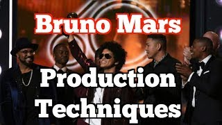 Bruno Mars: Production Techniques